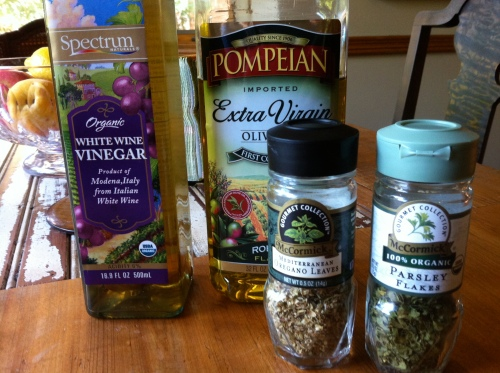 Dip seasoning ingredients
