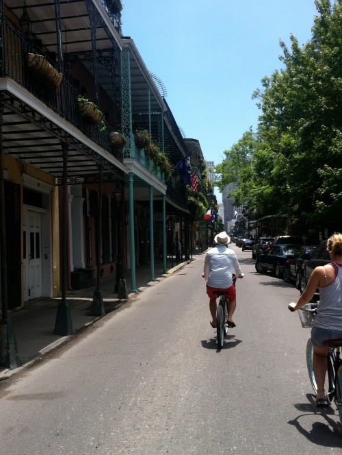Cruising through the Quarter to our next bite...