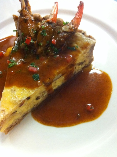 Crab Cheesecake