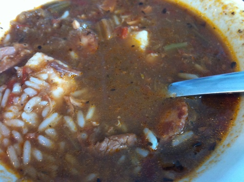 Great, great gumbo