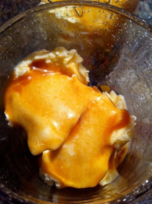 Vanilla Ice Cream + Homemade Caramel Sauce = Pure Bliss