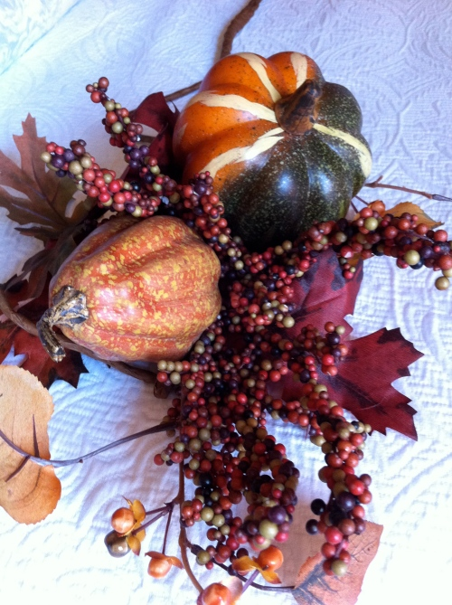 loved this fun little fall bunch (especially 40% off...)