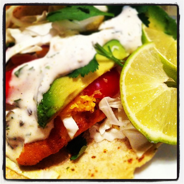 Fish tacos dine with a darling for California fish tacos