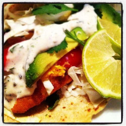 California Style Fish Tacos - YUM!